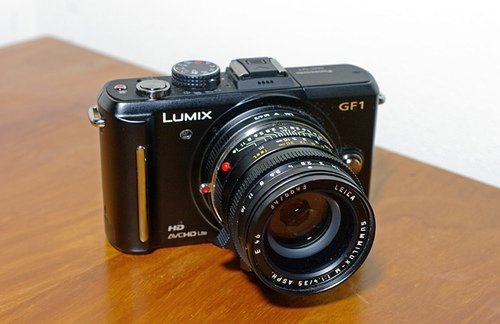 GF1 with Summilux